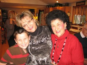Mother, nephew Josh and me - 2010